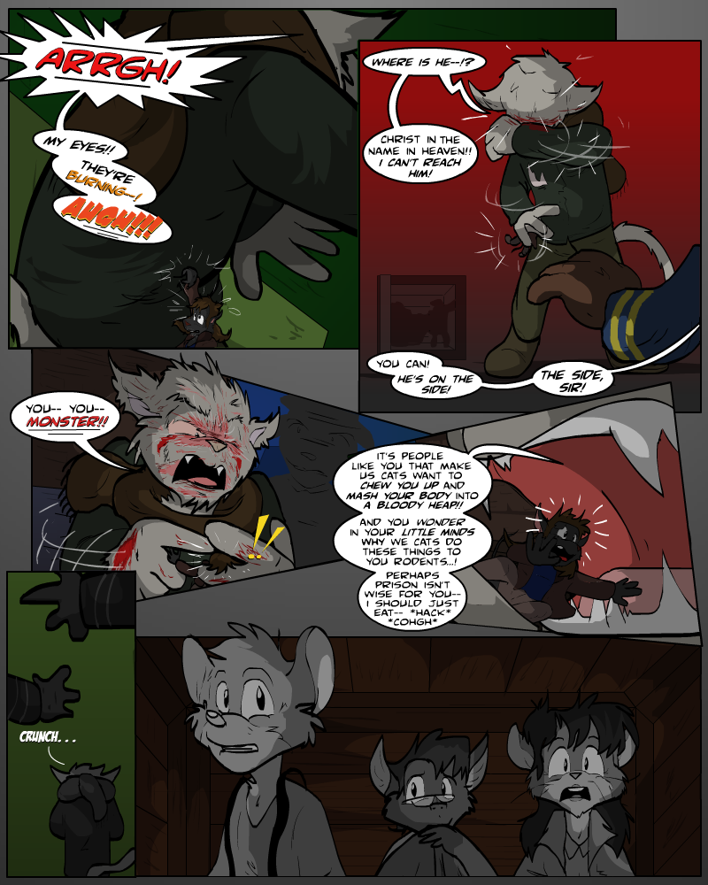 KUWT: Is7, Prologues: The Hunger by AaronsArtStuff
