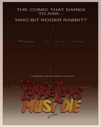 'ZombieToons Must Die' B-Movie Poster