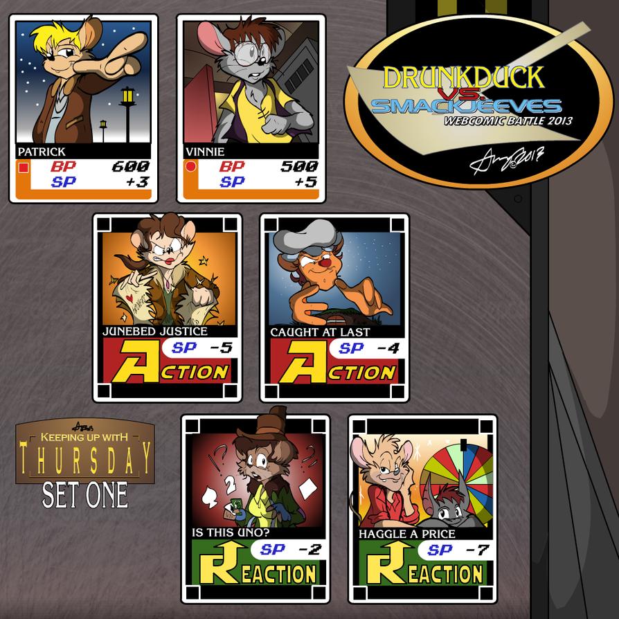 DrunkDuck vs SmackJeeves Cardfighter's Clash: KUWT by KUWTComicsInc