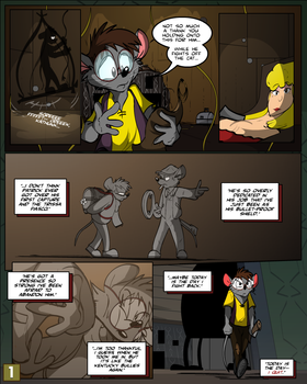 Keeping Up with Thursday Issue 10, page 1