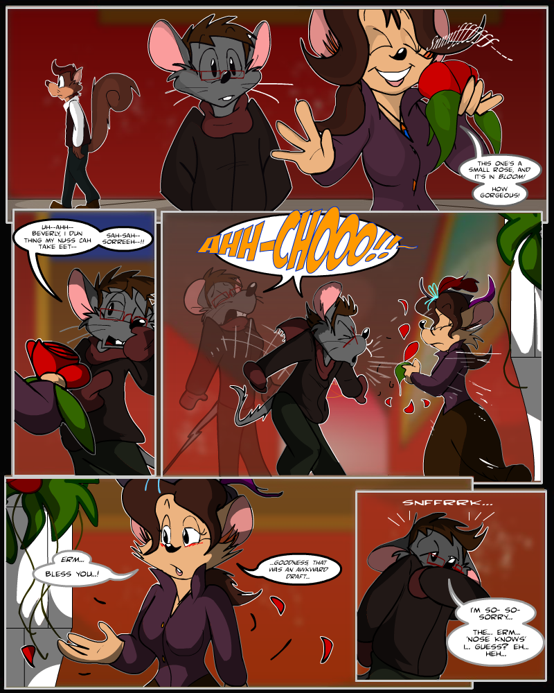 Keeping Up with Thursday: Issue 11, page 21 by AaronsArtStuff