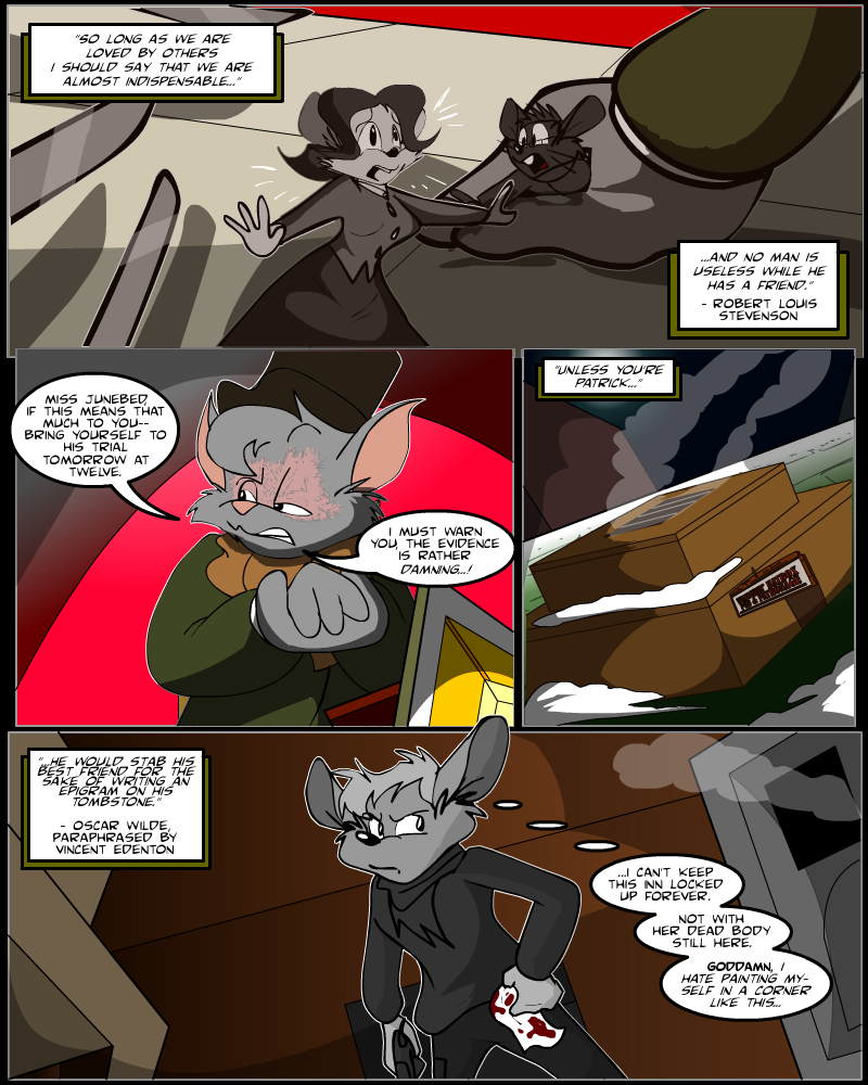 Keeping Up with Thursday, Issue 12 page 1 by KUWTComicsInc