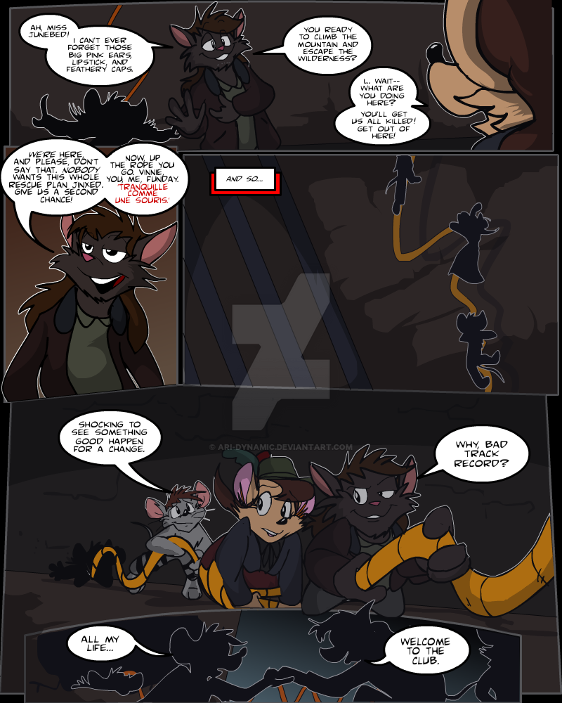 Keeping Up with Thursday, Issue 14 page 9 by AaronsArtStuff