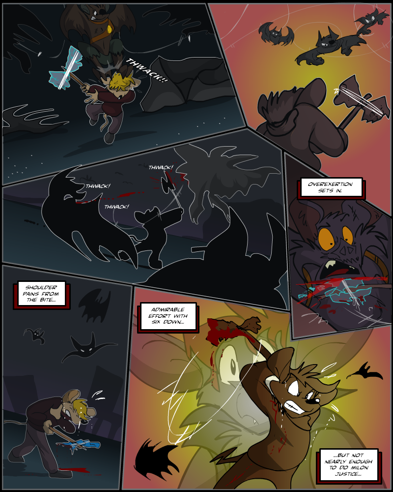 Keeping Up with Thursday, Issue 14 page 25 by AaronsArtStuff