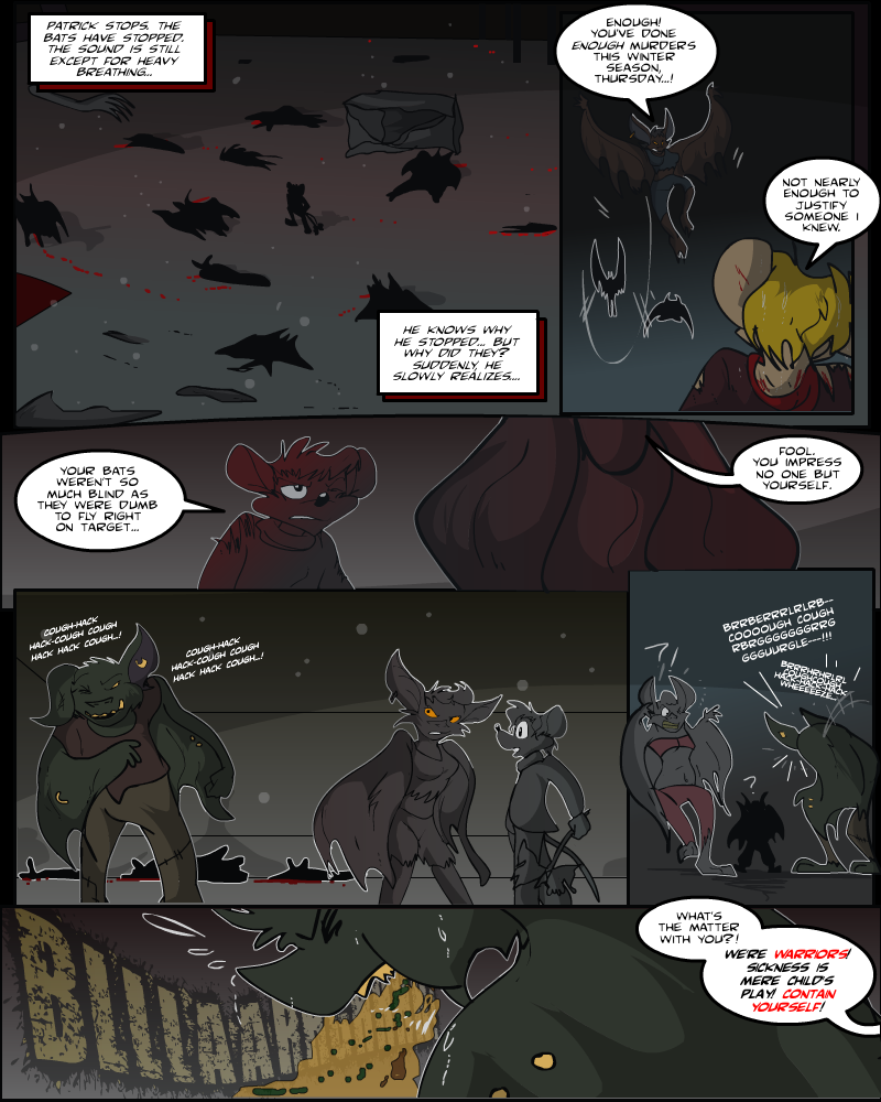 Keeping Up with Thursday, Issue 14 page 26 by AaronsArtStuff