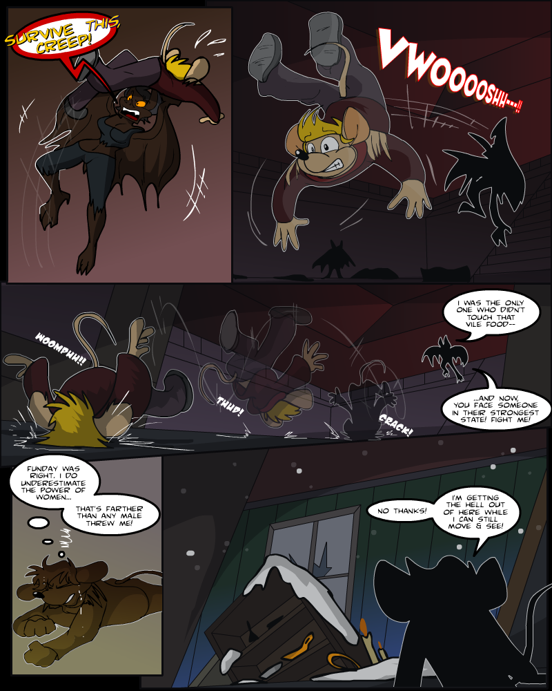 Keeping Up with Thursday, Issue 14 page 28 by AaronsArtStuff
