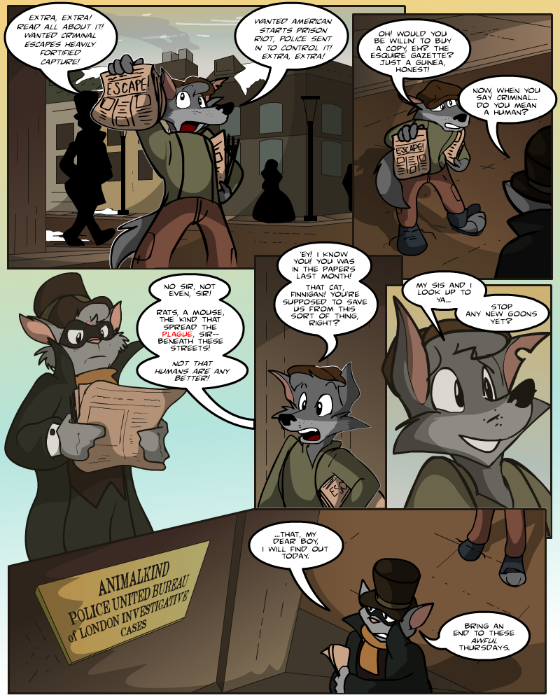 Keeping Up with Thursday, Issue 15 page 1 by AaronsArtStuff