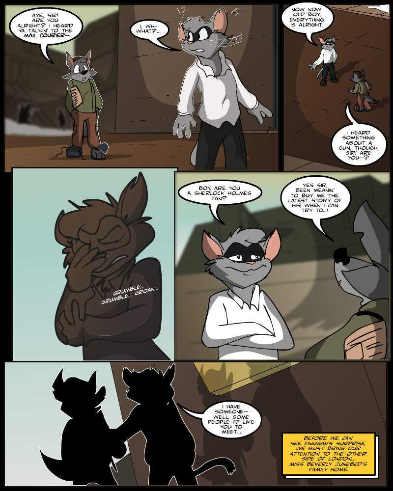 Keeping Up with Thursday, Issue 15 page 5 by AaronsArtStuff