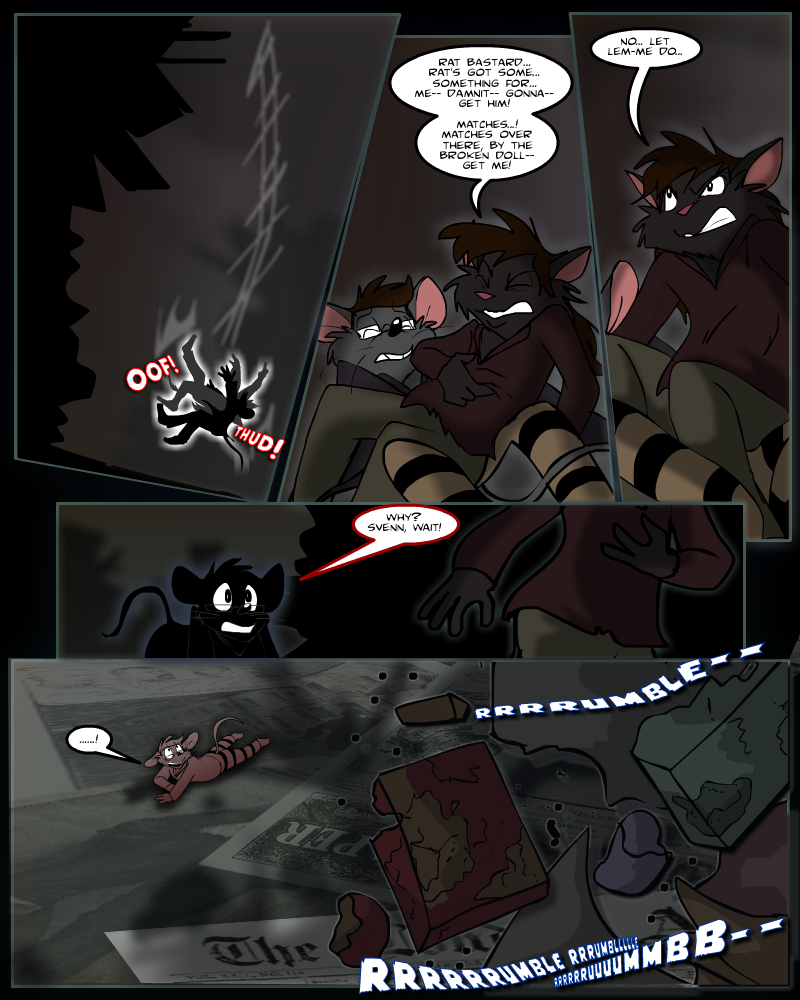 Keeping Up with Thursday, Issue 16 page 3 by KUWTComicsInc