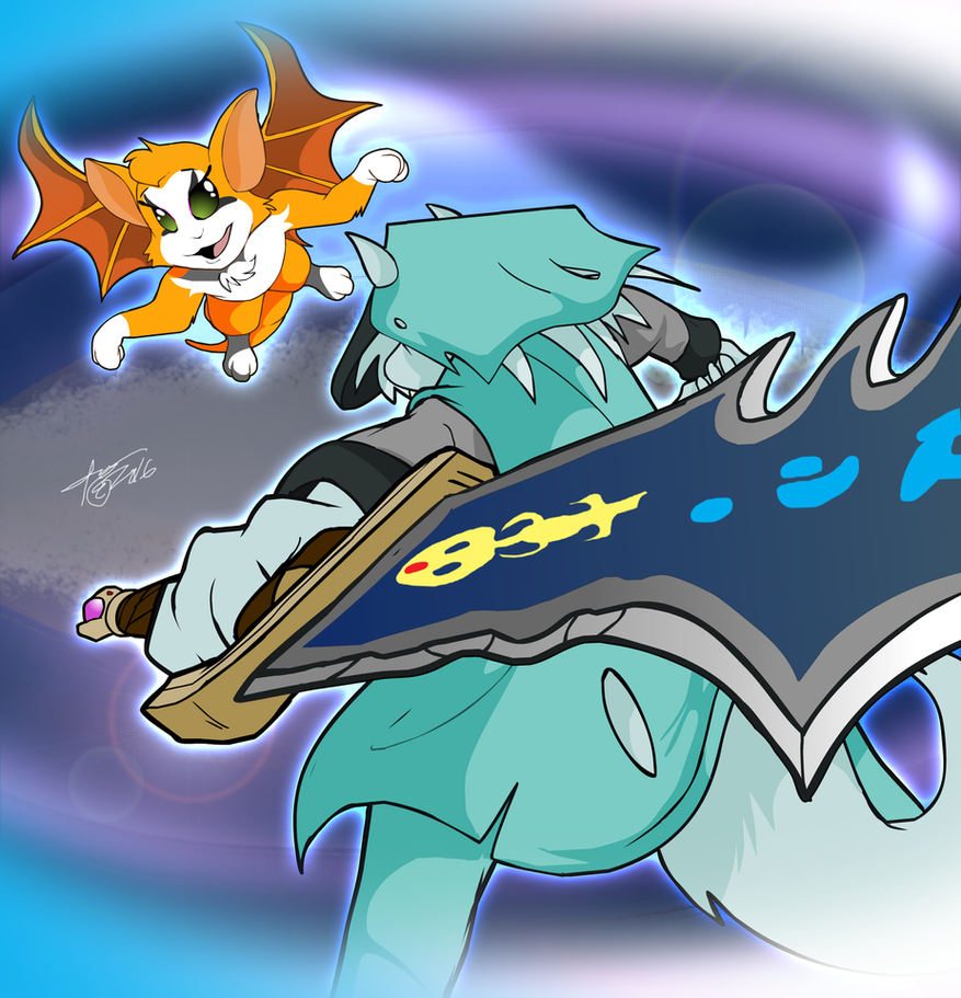 Commission: Dust-An-Elysian-Tail by x-TheDudeAbides-x