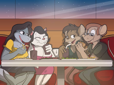 Commission: The Double Date