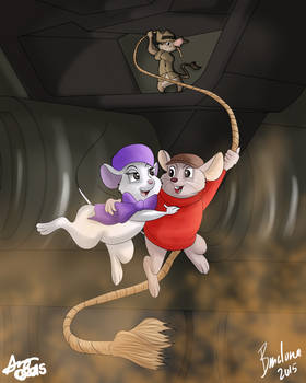 The Rescuers Down Under Collab (2015 Repost)