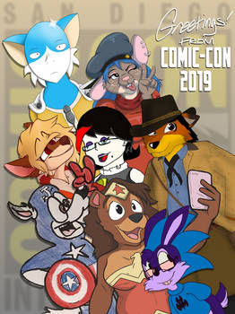 2019 San Diego Comic-Con Collab