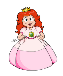 DiC Cartoon Collab Submission: Princess Toadstool