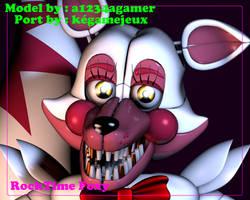 RockTime Foxy (C4D RELEASE) by kegamejeux