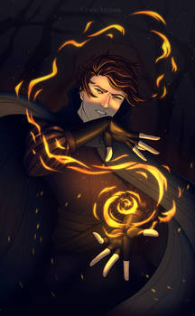 I bring the Flame to the Moths + Speedpaint