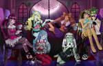 Tea Time--Monster High