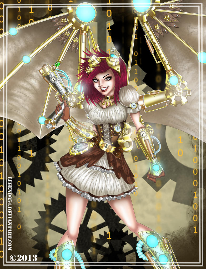 Steampunk Self by legend654
