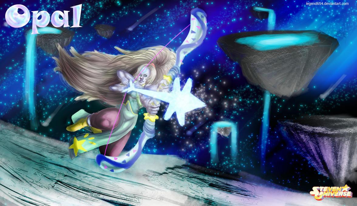 Steven Universe Opal Wallpaper By Legend654