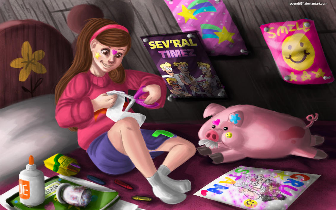 Mabel's Project by legend654