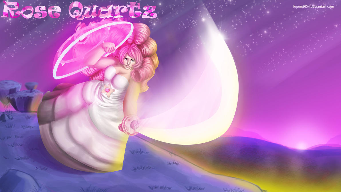 Rose quartz steven universe wallpaper by legend654 on - Rose quartz steven universe wallpaper ...