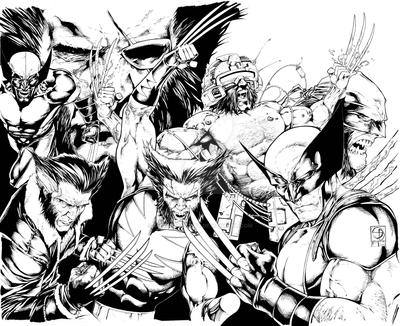 Wolverine Sandwich Preview 1 by shanedavisart