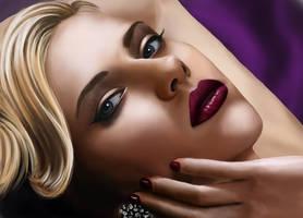 Scarlett Johansson by StanislavStoyanov