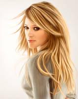 Hilary Duff by StanislavStoyanov