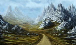 Mountain by StanislavStoyanov