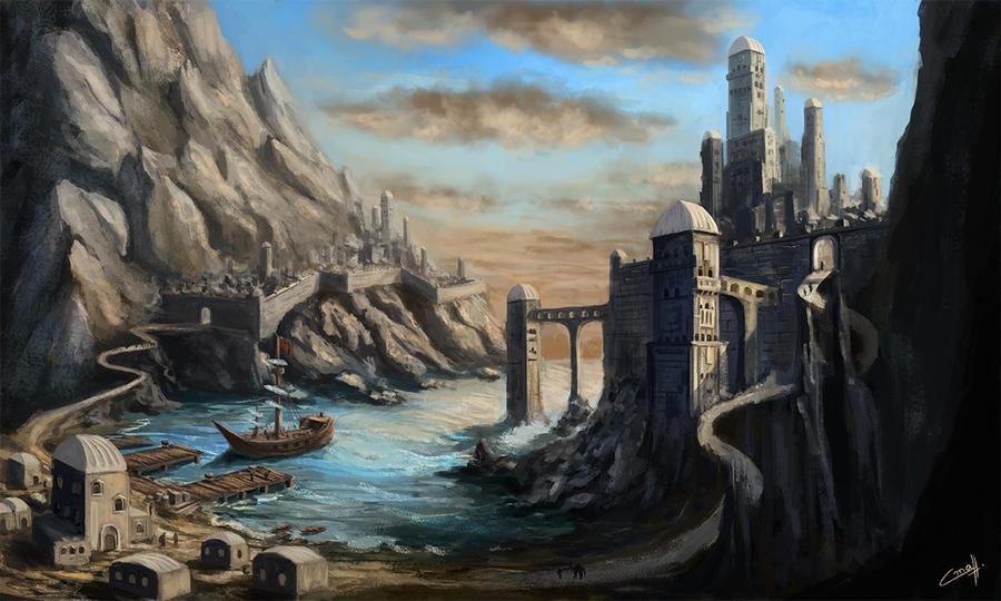 Ancient city by StanislavStoyanov