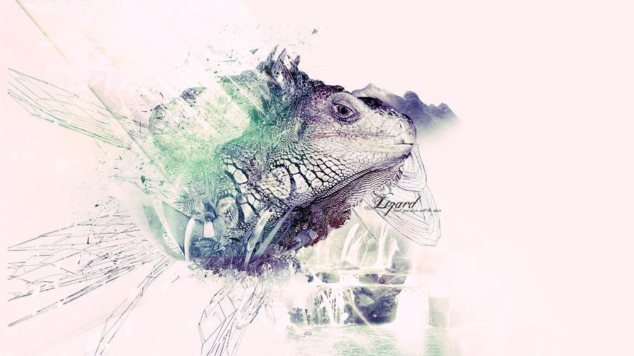 Lizard Wallpaper by Blinkit on DeviantArt