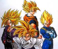 Dragon Ball by VinceArt