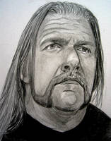 WWE Triple H H H by VinceArt