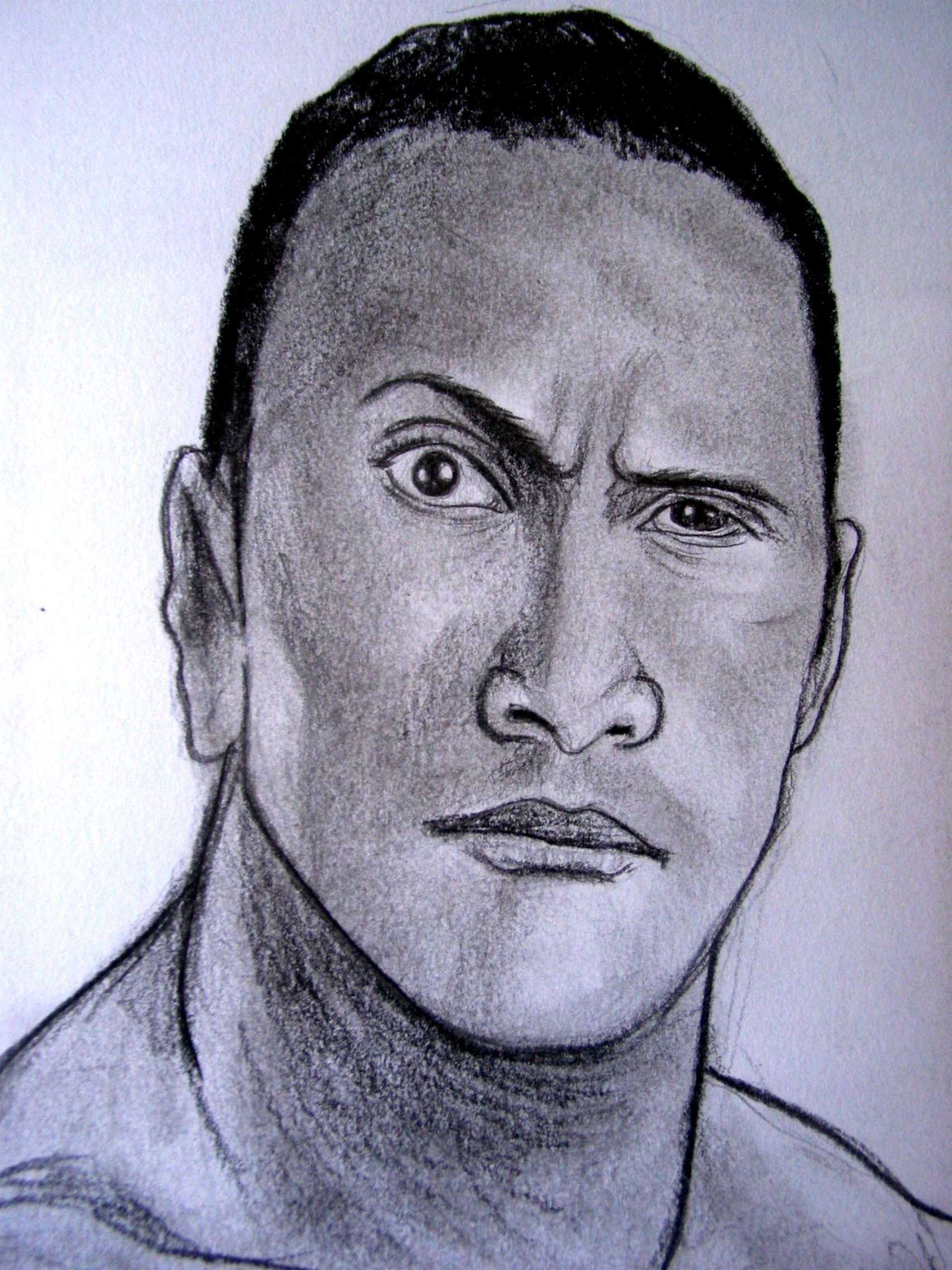Thread: WWE The Rock New Drawing