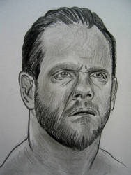 Chris Benoit WWE by VinceArt
