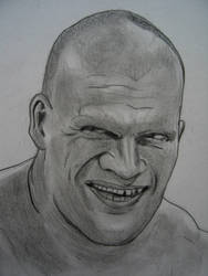 Kane WWE by VinceArt