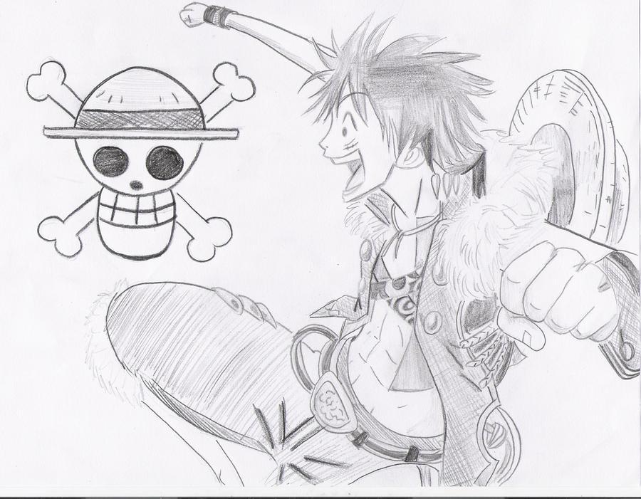 Monkey D. Luffy by Mitsusuki