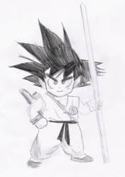 Goku by Mitsusuki