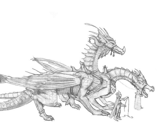Dragonriders by azdaja