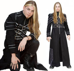 Cyberwraith Men's Coat
