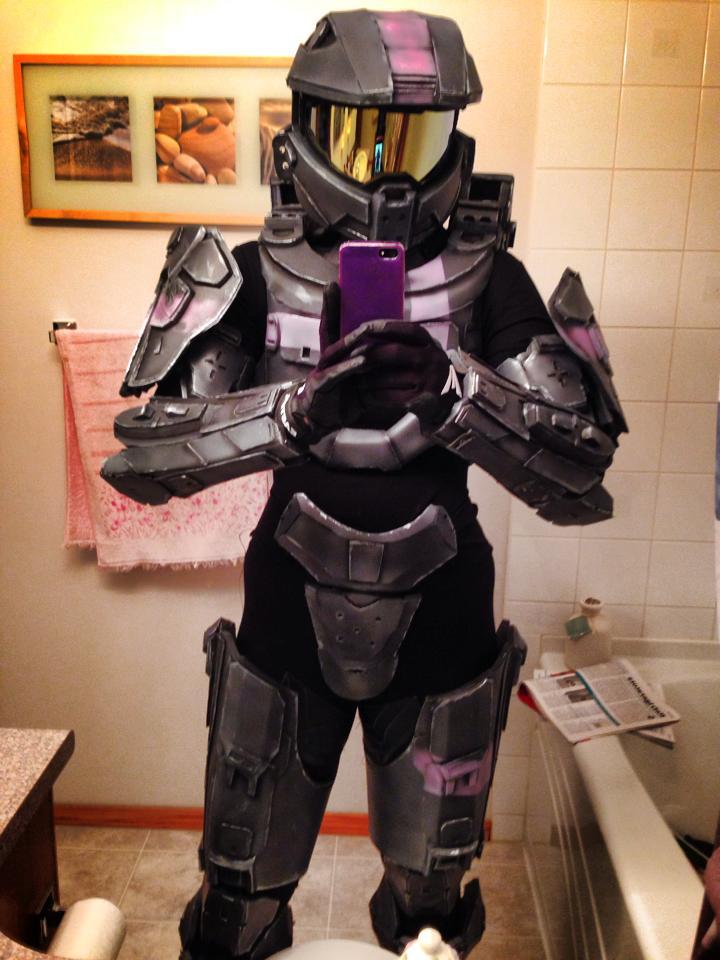 Halo Spartan Female by kitnipz