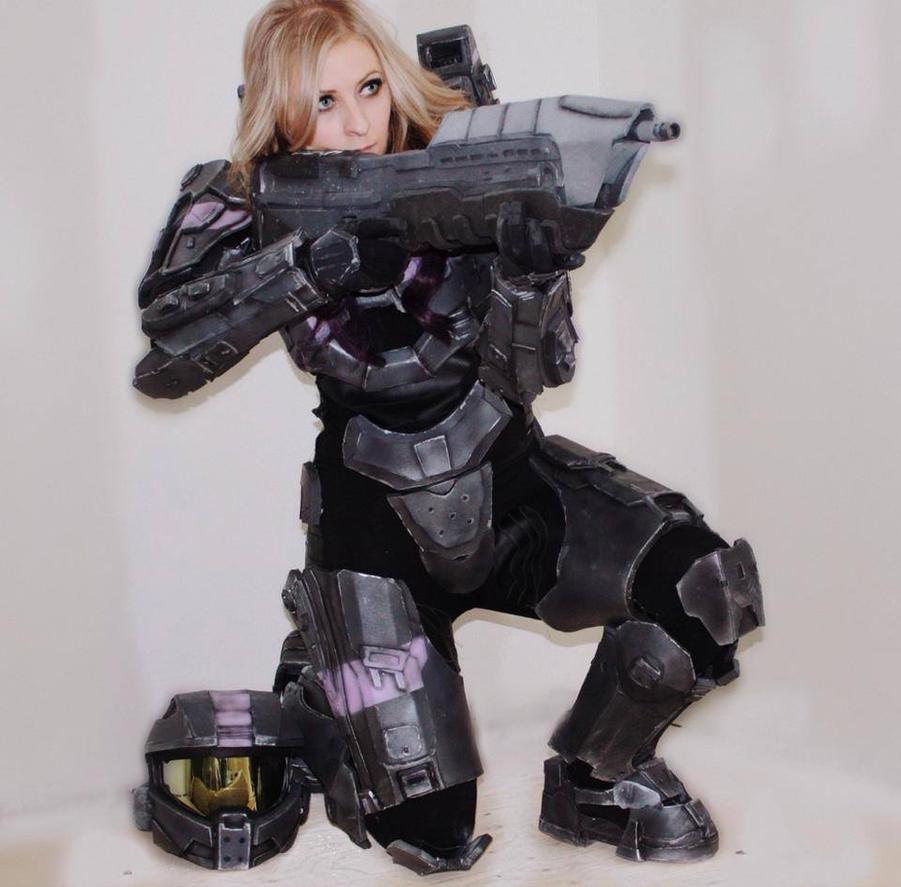 Female halo spartan costume
