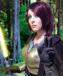 Jedi Knight by kitnipz