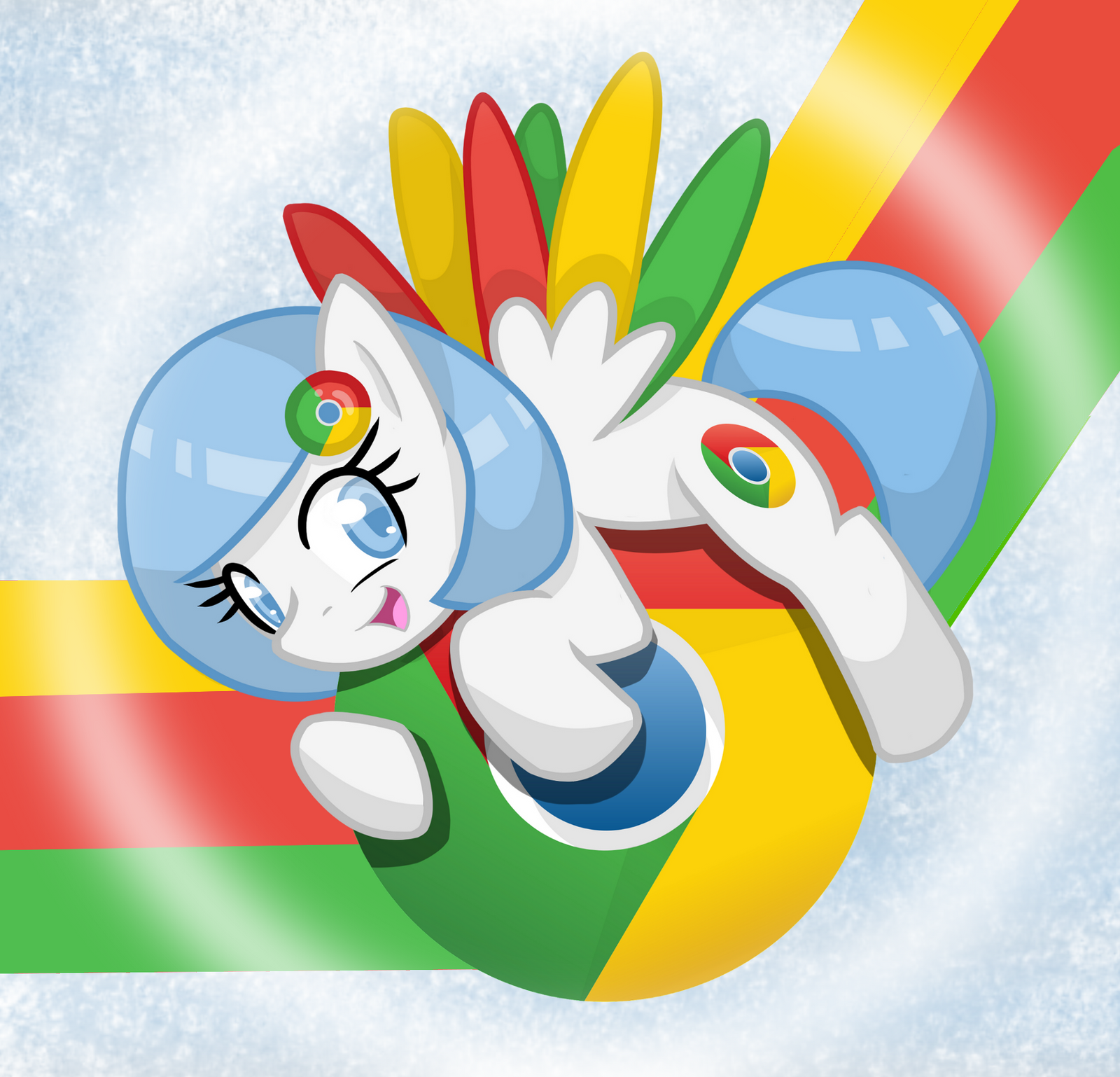 Google chrome themes gallery 2012 -  Google Chrome Pony Wallpaper By Musical Medic