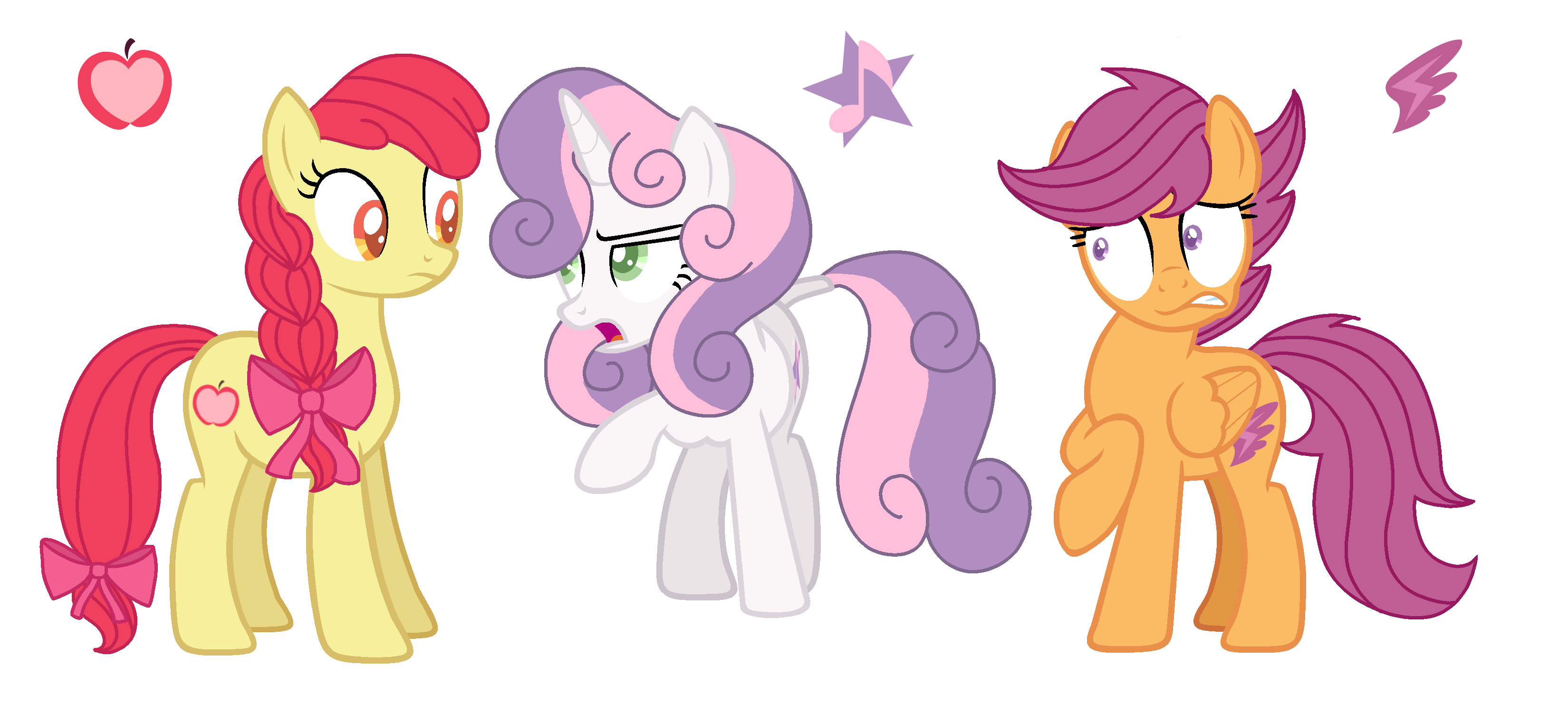 Mlp Next Gen Cmc Redesign By Musical Medic On Deviantart Ponyville minty pose, ponyville scootaloo pose, ponyville rainbow dash pose. mlp next gen cmc redesign by musical