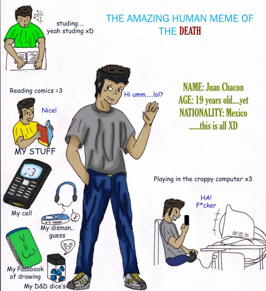 The Amazing Human meme by paladin095 on DeviantArt