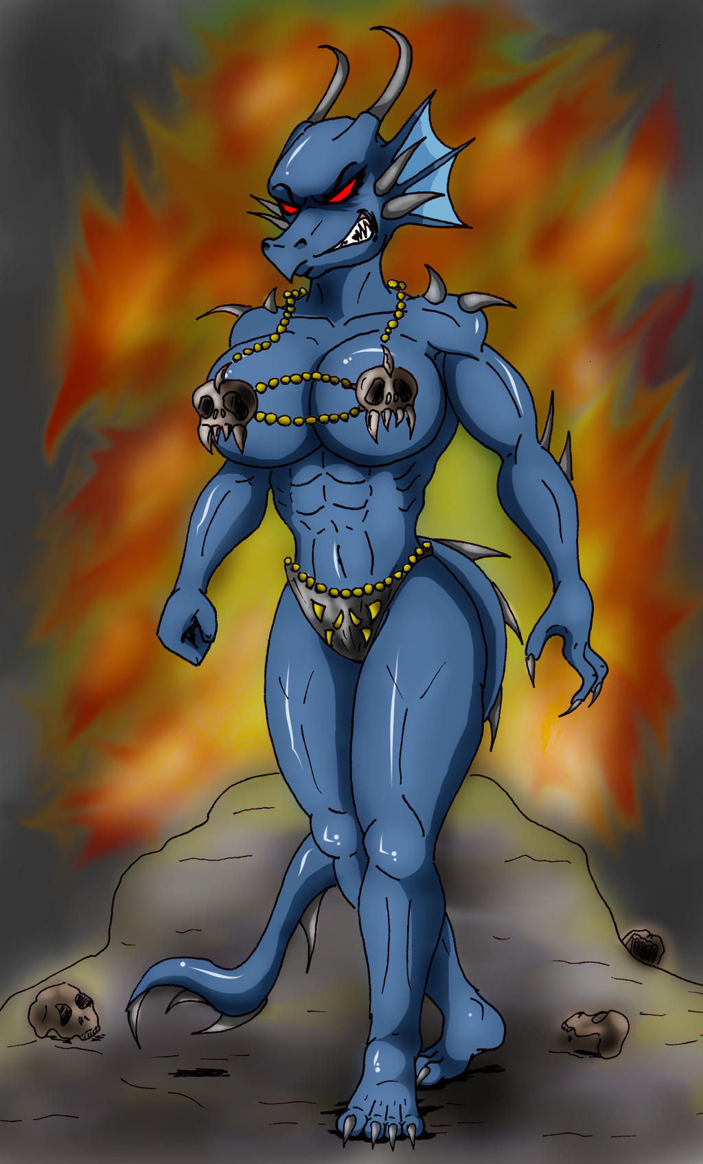 Anthro dragoness nude picture