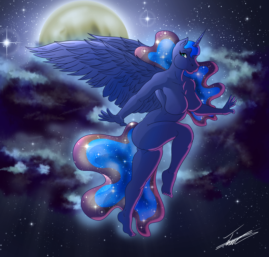 Raising the Moon by paladin095