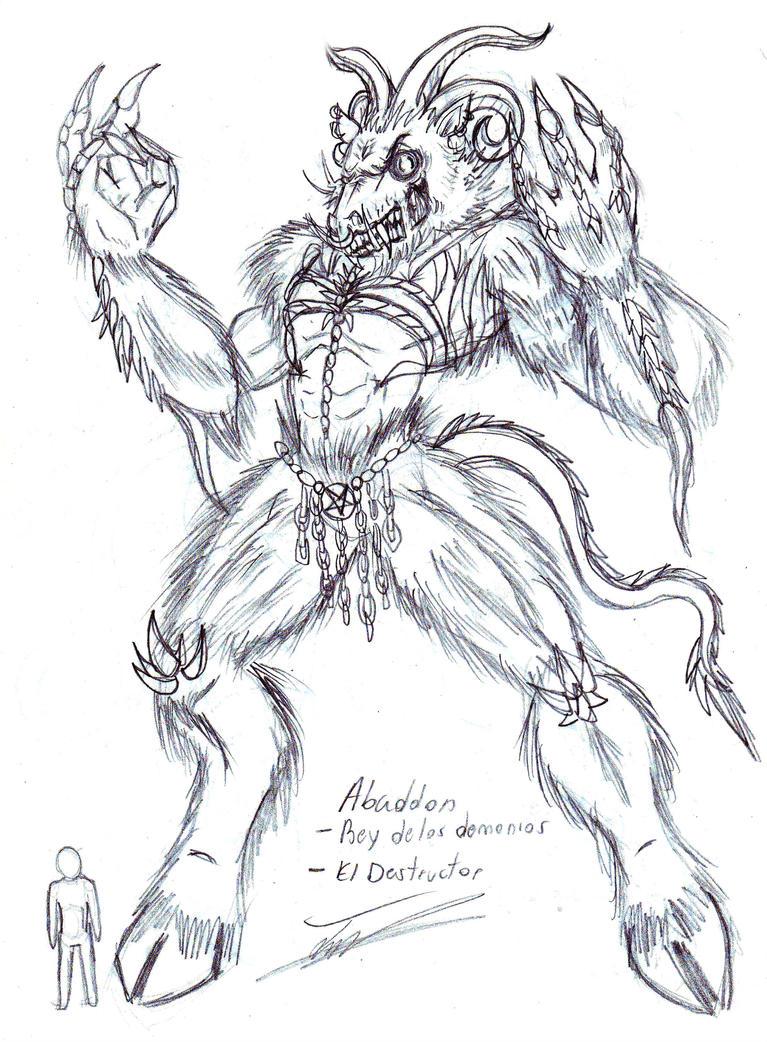 Abaddon Sketch by paladin095