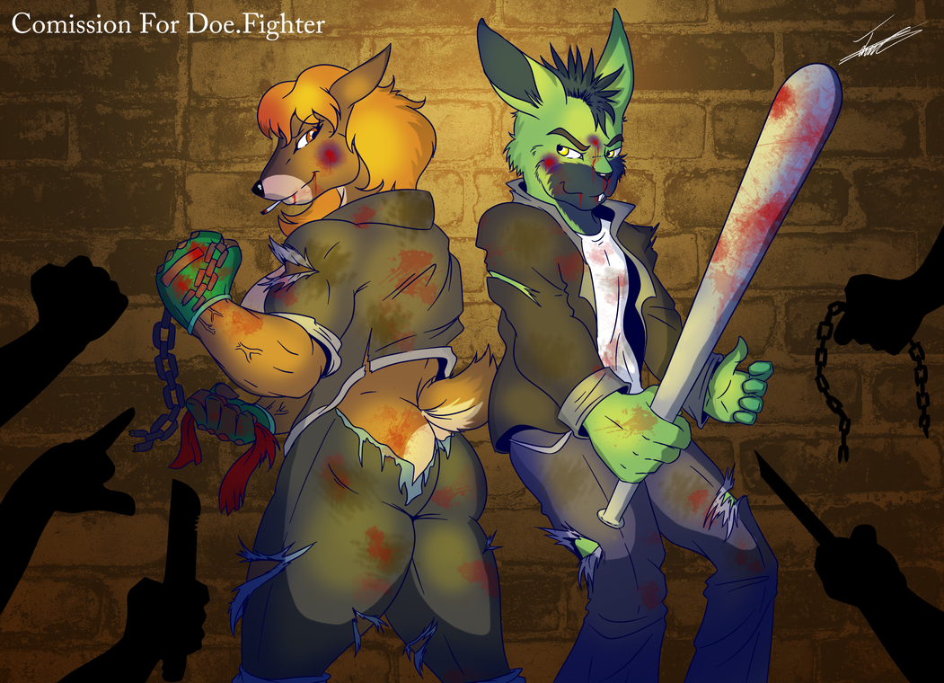 Blood and rage in the streets by paladin095